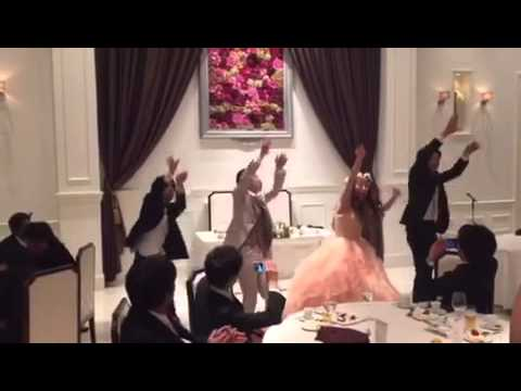 R.Y.U.S.E.I 三代目JSoulBrothers 結婚式 ダンス 新郎新婦 サプライズ