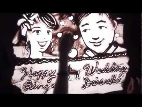 結婚式サンドアートムービー6