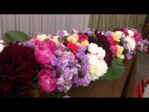 weddingflower【披露宴会場の装花】