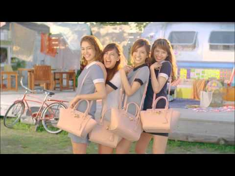Samantha Vega meets E-girls TV CM 「Anniversary!!」