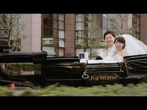 馬車に乗り、ダンスで入場 - ウェスティンホテル東京で結婚式撮って出し