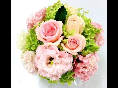 花束(ブーケ)の基本作り方、ウェディングブーケ作り方のスペシャルすぎるプロ技を教えます~How to make a bouquet - Hand tied flower bouquet~