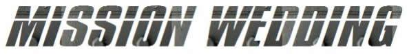 ミッションインポッシブル風ロゴ