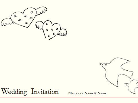 招待状:ナチュラル