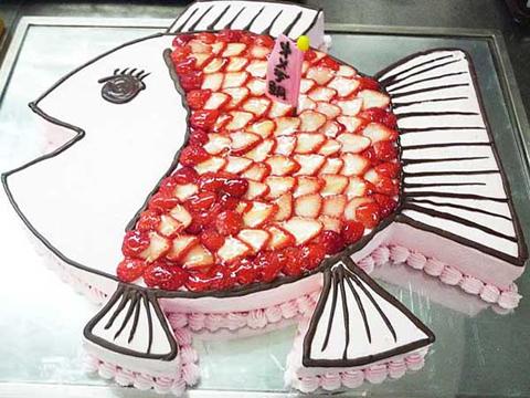 おめで鯛ウエディングケーキ2