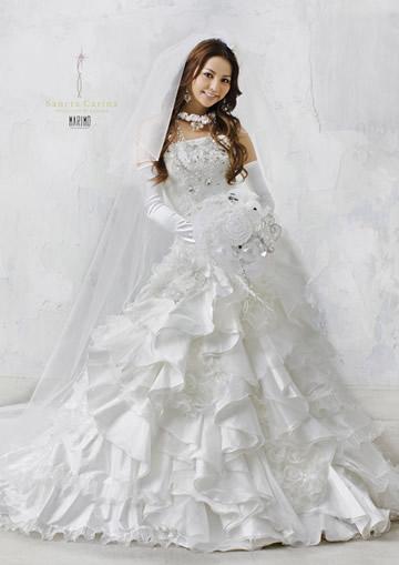 香里奈ウエディングドレス画像1