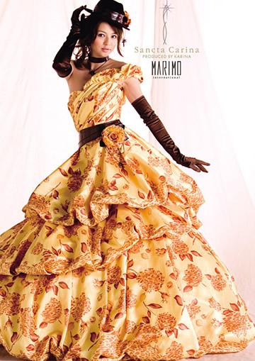 香里奈ウエディングドレス画像3