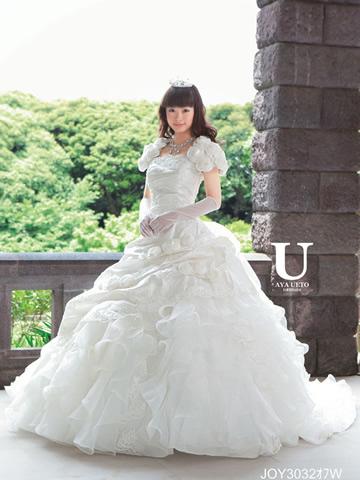 上戸彩ウエディングドレス画像1