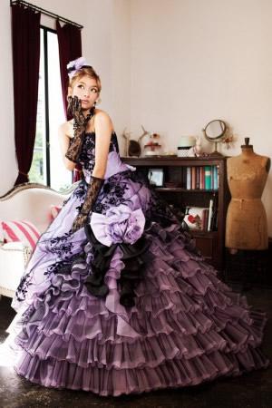 ローラウエディングドレス画像3