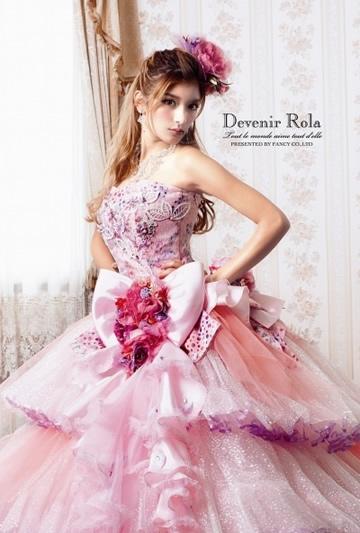 ローラウエディングドレス画像4