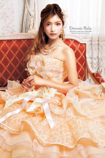 ローラウエディングドレス画像6