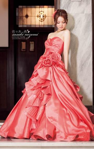 佐々木希ウエディングドレス画像2