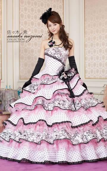 佐々木希ウエディングドレス画像3