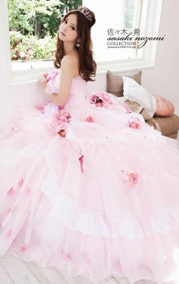 佐々木希ウエディングドレス画像4