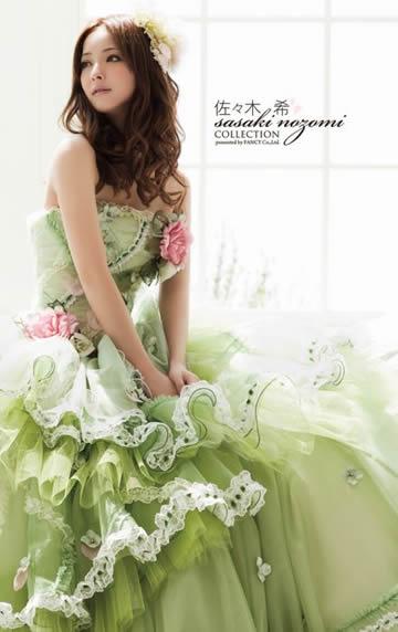佐々木希ウエディングドレス画像5