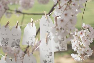 桜を使った海外ウエディングフォト17
