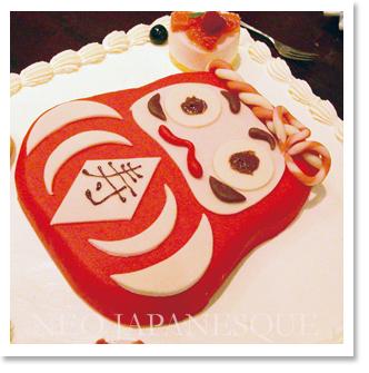 だるまのウエディングケーキ2