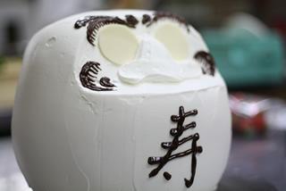 だるまのウエディングケーキ4
