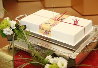のしのウエディングケーキ3