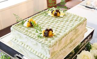 市松模様のウエディングケーキ4