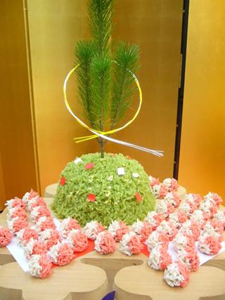 松のウエディングケーキ1