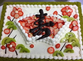 松のウエディングケーキ2