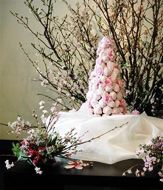 桜のウエディングケーキ4