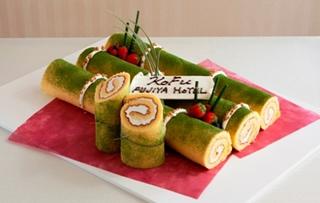 竹のウエディングケーキ1