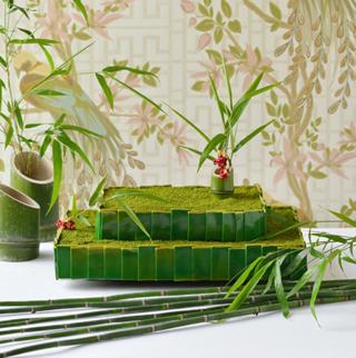 竹のウエディングケーキ2