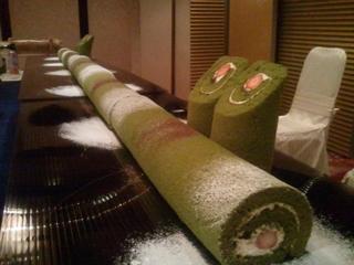 竹のウエディングケーキ3