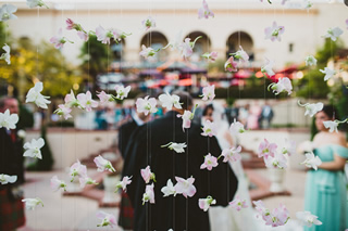 桜を使った海外ウエディングフォト16