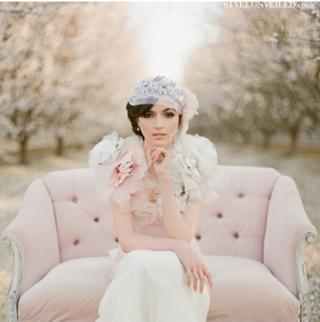 桜を使った海外ウエディングフォト46