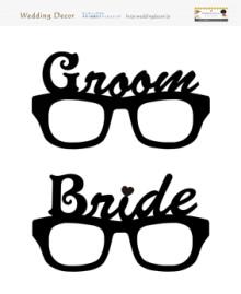 Wedding Decor|ウェディングデコのフォトプロップス