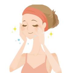 洗顔・保湿・水分補給