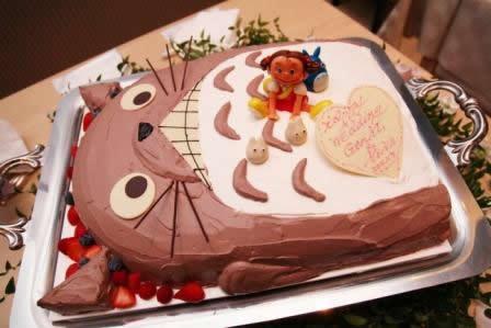 ジブリウエディングケーキ3