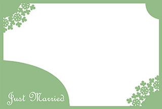 結婚報告ハガキ無料テンプレート|背景写真82