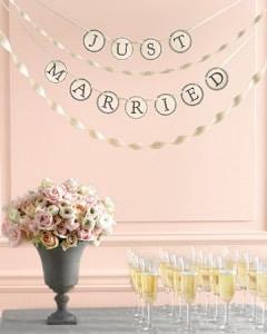 MarthaStewart Weddingのガーランドテンプレート1