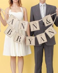MarthaStewart Weddingのガーランドテンプレート2