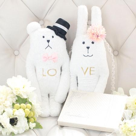 結婚式 ぬいぐるみ 電報