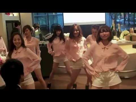 E-girls Follow me Eriko Wedding Party