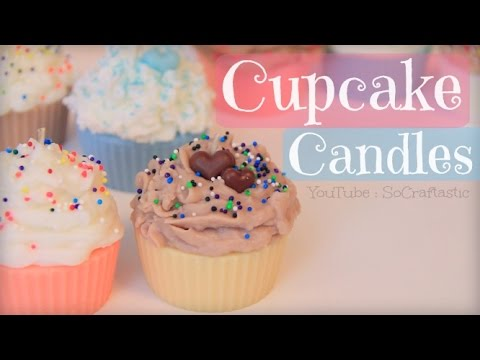 DIY Cupcake Candle // Candle Making How To