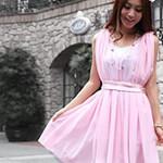 結婚式お呼ばれドレス~ピンク