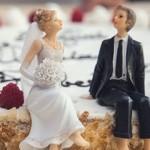 結婚式用『ウエディングケーキトッパー』