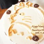 ジブリ風ウエディングケーキ|トトロ