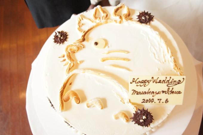 ジブリウエディングケーキ1
