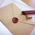 結婚式招待状『シーリングワックス』の使い方・作り方