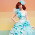 『ブルー』のウエディングドレス・カラードレス